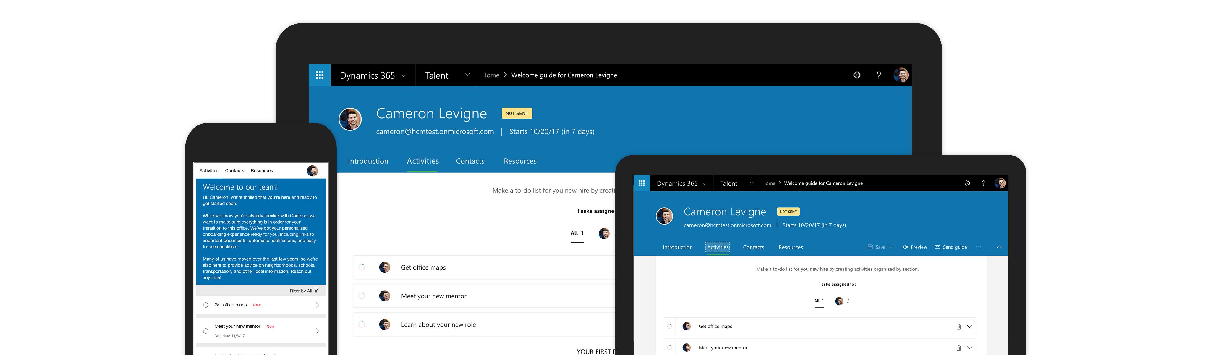 Dynamics 365 For Talent Qbs Group